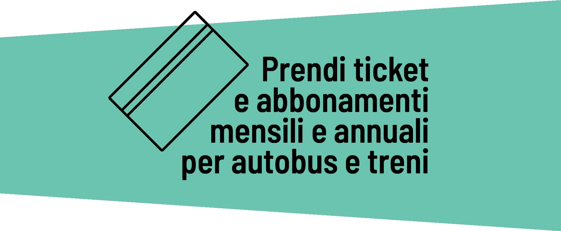Roger - Prendi ticket e abbonamenti mensili e annuali per autobus e treni